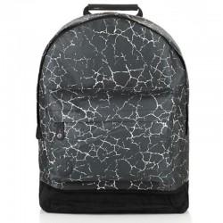 MI PACK plecak CRACKED black silver