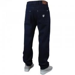 PROSTO spodnie FLAVOUR baggy jeans navy