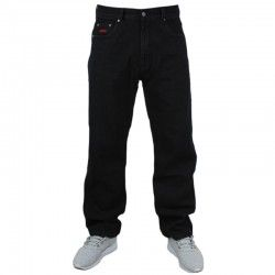 PROSTO spodnie FLAVOUR baggy jeans black