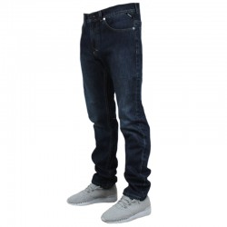 MASS spodnie SIGNATURE jeans dark blue