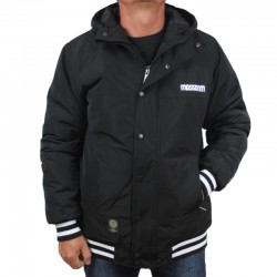MASS kurtka DISTRICT jacket black