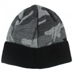 PATRIOTIC czapka LAUR MINI wywijana black camo
