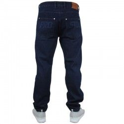 PROSTO spodnie LANTERN jeans regular navy