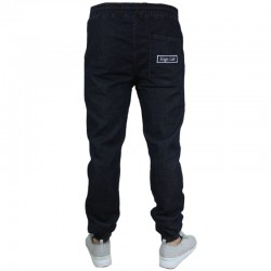 HIGH LIFE jogger HL HAFT jeans guma dark