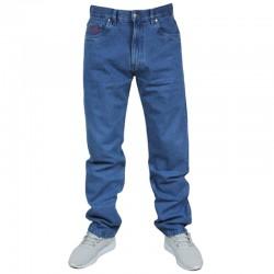 PROSTO spodnie FLAVOUR jeans baggy blue 2019