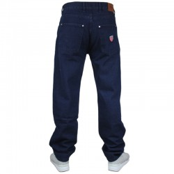 PROSTO spodnie FLAVOUR jeans baggy navy 2019