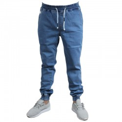 ELADE jogger DENIM II guma light blue 2019